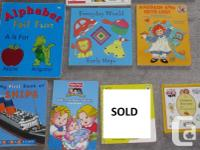 NOW $1 for each book My first big number book Doug's