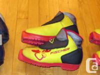 Kid's cross-country ski boots for Salomon SNS Profil