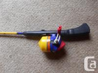 "Kid's "" My Big Fish "" Fishing Rod - 48"" long - Reel and"