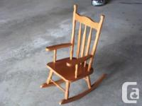 Youngster size rocking chair, or could be utilized as