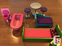 Modern Dream Dollhouse, playtime is always a ton of