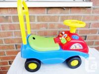 Play Music Task Ride On Cart by Kiddieland. -