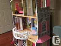 Clean and well-maintained doll house from a