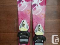 Elan 80cm skis Fischer bindings Rocks boots size
