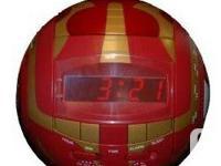 Like new with box, digital alarm clock radio shaped