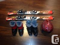 For sale individually: - Ski boots size 1 (EURO size