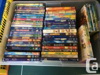 Kids DVDs Disney, animated, superhero's, classic,
