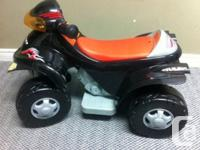 Great condition, Kid's 4x4 motorized ride on toy for