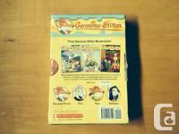 CHAPTER BOOKS GERONIMO STILTON IT IS A 3 BOOK SET. IT