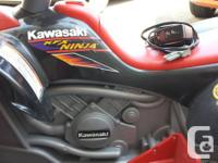 Used, For Sale  KIDS CAR Fisher-Price Power Wheels Kawasaki for sale  Quebec