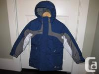 New kid's Columbia winter insulated jacket with 4 outer