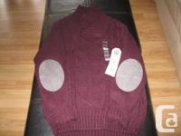 Boys NEW sweater - tags still on Size 7/8 Brand name -