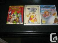 kids disney  dvdz  the many adventures of winnie the