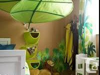 We have an EUC IKEA tent bed with jungle canopy. We