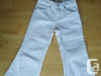 Childrens Place Girls White Jeans. -Brand name New