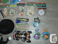 I got a bunch of various little toys for kids for sale.