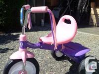 Kids tricycle for sale. Ideal for ages 1-3. Paid $60.