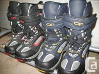 High quality kids snow boots in excellent condition.