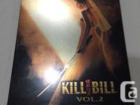 Kill Bill Steelbooks Perfect, new condition Kill BIll 1