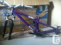Killswitch frame/rear shock. About to sell as is in the