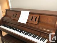 Made in USA. Kimball piano has same options like a