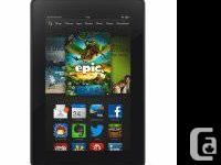 "Kindle Fire HD 7"", HD Display screen, Wi-Fi, 8 GB."