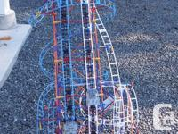 Three Kinex Roller Coasters -All have been assembled so
