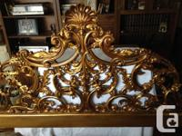 Master dimension head board-- Antique cast iron from