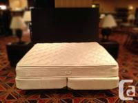 Awesome price for a king size bed!! You won't find