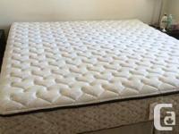 Sealy posturepedic king size mattress with split