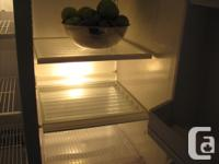 """Fridge dimensions are 66"""" high by 32"""" wide by 31"""" deep"""