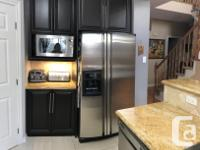 Kitchen Cabinets with granite countertop in perfect