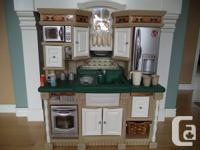This Lifestyle Dream Kitchen from Step2 has the