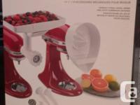 Brand New in Box. KitchenAid KN12AP Mixer Attachment