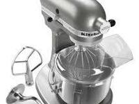 Kitchen Aid Professional Mixer style, used a handful of