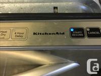 7 YEAR OLD KITCHENAID DISHWASHER--90 DAY MONEY BACK