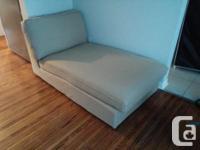 KIVIK Chaise and Love Seat - ISUNDA Beige fabric