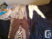 OR SALE *5 pairs of breeches* -Top left greenish, knee