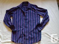 very nice klaus boehler shirts. medium size. never been