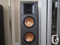 Superb Klipsch Reference IV RF62 tower speakers.