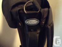 Knight. NEW with original sticker - Knight golf bag.