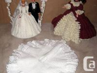 1st is a bride and groom pair ocan be used as a