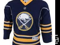 I recently purchased blank Buffalo Sabres jerseys