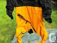 Kokatat GFER completely dry suit. Custom-made bought.