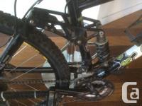 Kona - Bear mountain/down hill (aluminum) bike for