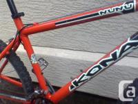 Low mileage Kona Nunu in very good condition. Top of