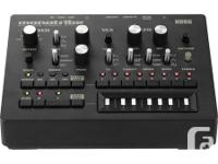 This synthesizer / drum device is a pure happiness to