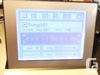Korg D3200 Digital Recording Studio. Built in CD