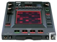 I have a Korg KP3 Kaoss pad dynamic effects sampler
