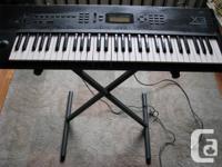 The tech specs:  Korg X3 Synthesizer Workstation
